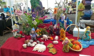 Needle felted ornaments and more
