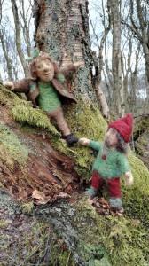 Dwarf friends in the wood