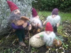 Dwarfs in the garden